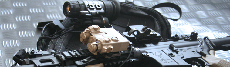 Laser Devices DBAL-A2, Night Vision LVLMi-14, AR15 Stag Arms